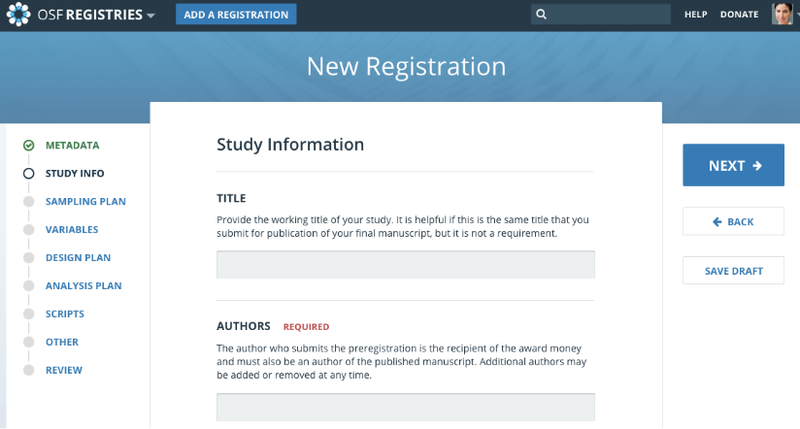 registration submission mockup