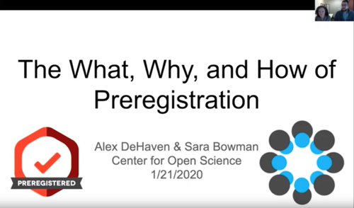 The What, Why, and How of Preregistration on YouTube